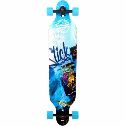 Longboard Skateboard Complet slickstuff Carver drop through 106 cm Freeride
