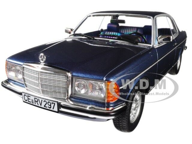 1980 MERCEDES BENZ 280 CE COUPE blueE METALLIC 1 18 DIECAST MODEL BY NOREV 183589