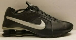 Nike-Shox-Conundrum-Black-Silver-Runners-Athletic-Sneakers-Shoes-Men-039-s-Size-10-M