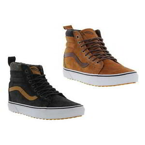 d9a42d1741a7 Vans SK8 Hi MTE Mens All Weather Suede Leather Hi Top Skate Trainers ...