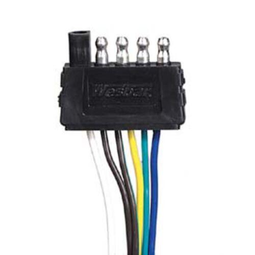 Wesbar 707283 Wishbone 5-Way 4/' Trailer Connectors W// 4/' Gound