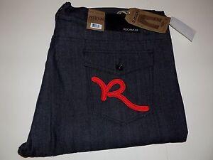 Rocawear X con 32 Fit dritto 883825613453 52 taglio Classic Jeans Black Nwt Yq6Z1w4a4