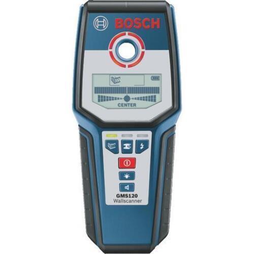 Bosch GMS120 Digital Wall Multi-Scanner Stud Metal Detector Recon