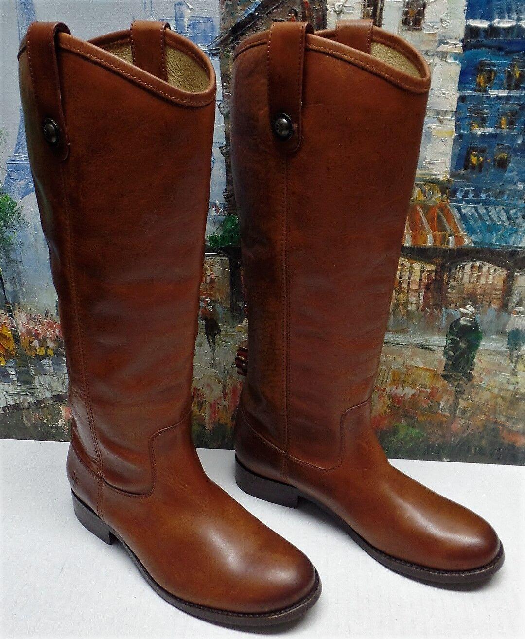 Frye 'Melissa Button' bota in Cognac marrón  - Talla 5.5B -