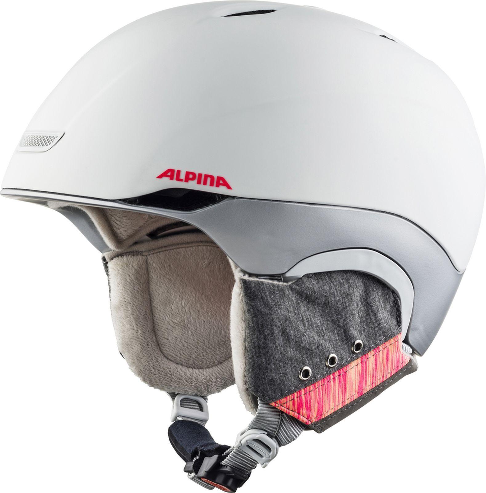 Alpina Adult Helmet Ski Helmet parsena  White Flamingo Matt  factory outlet online discount sale