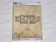NEW Empire Total War SPECIAL FORCES EDITION PC Game Sealed Computer US Sega