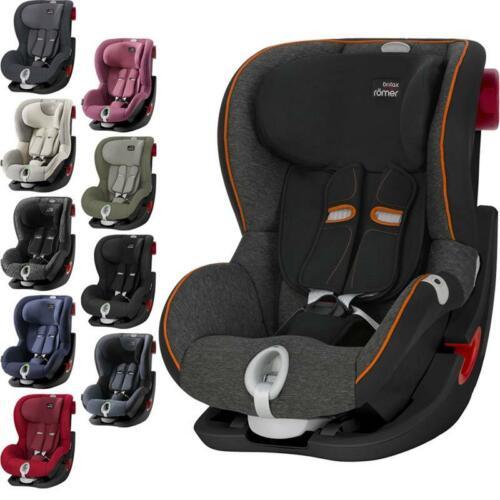 Britax Römer Kindersitz KING II LS Black Series Farbwahl NEU