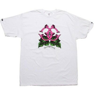 Bright Crooks And Castles Island Cs Men's White T Shirt 840706wht Fragrant Aroma Clothing, Shoes & Accessories Activewear Tops