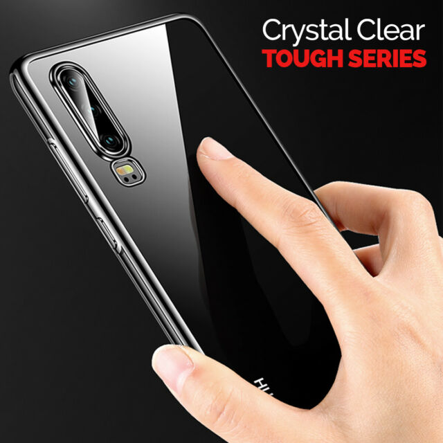 CLEAR Case For Huawei P30 P30 Pro Cover Shockproof Silicone Gel Protective TOUGH