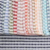 Hacci Stripe 6x6 Rib Knit Poly Rayon Spandex Hacci Fabric By The Yard - 0679