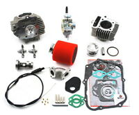Honda Trx90 Trx 90 114cc Big Bore Kit Cylinder Head Piston Rings 24mm Carburetor