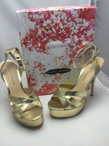 966eed8c05b Chinese Laundry Shoes Size 10 Alyssa Metallic Gold NIB 785807214835 ...