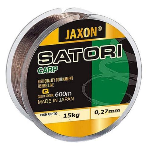 Angelschnur JAXON SATORI CARP 300m//600m Spule Monofile Karpfenschnur Feeder Top!