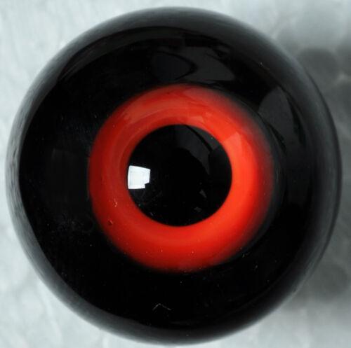 Nice 22mm flatback Special Red/&Black Glass BJD Eyes for Reborn//Newborn BJD Doll
