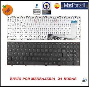 Tastiera-Spagnolo-Nuovo-Portatile-Lenovo-Ideapad-110-15ISK-Nero-5N20L25881-TEC23
