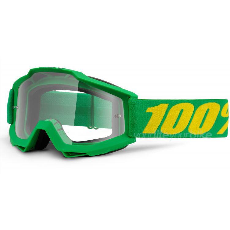 100% ACCURI ACCURI ACCURI FORREST GOGGLE DOWNHILL BRILLE MX FREERIDE MOTOCROSS ENDURO MTB GRÜN 59a251