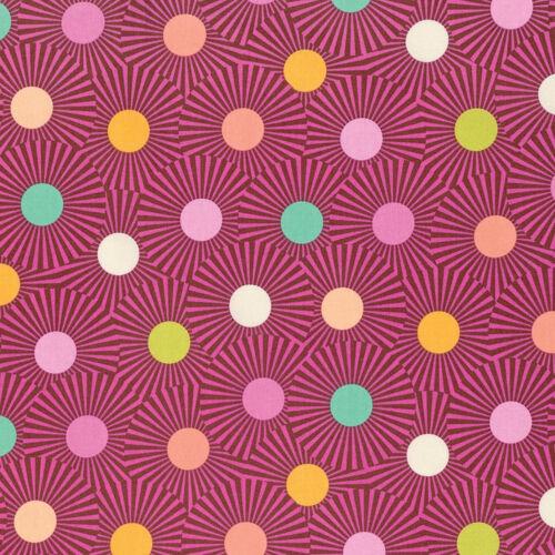Lenta y constante por Tula Rosa cielo claro Orange Crush-por 1//4 Metro