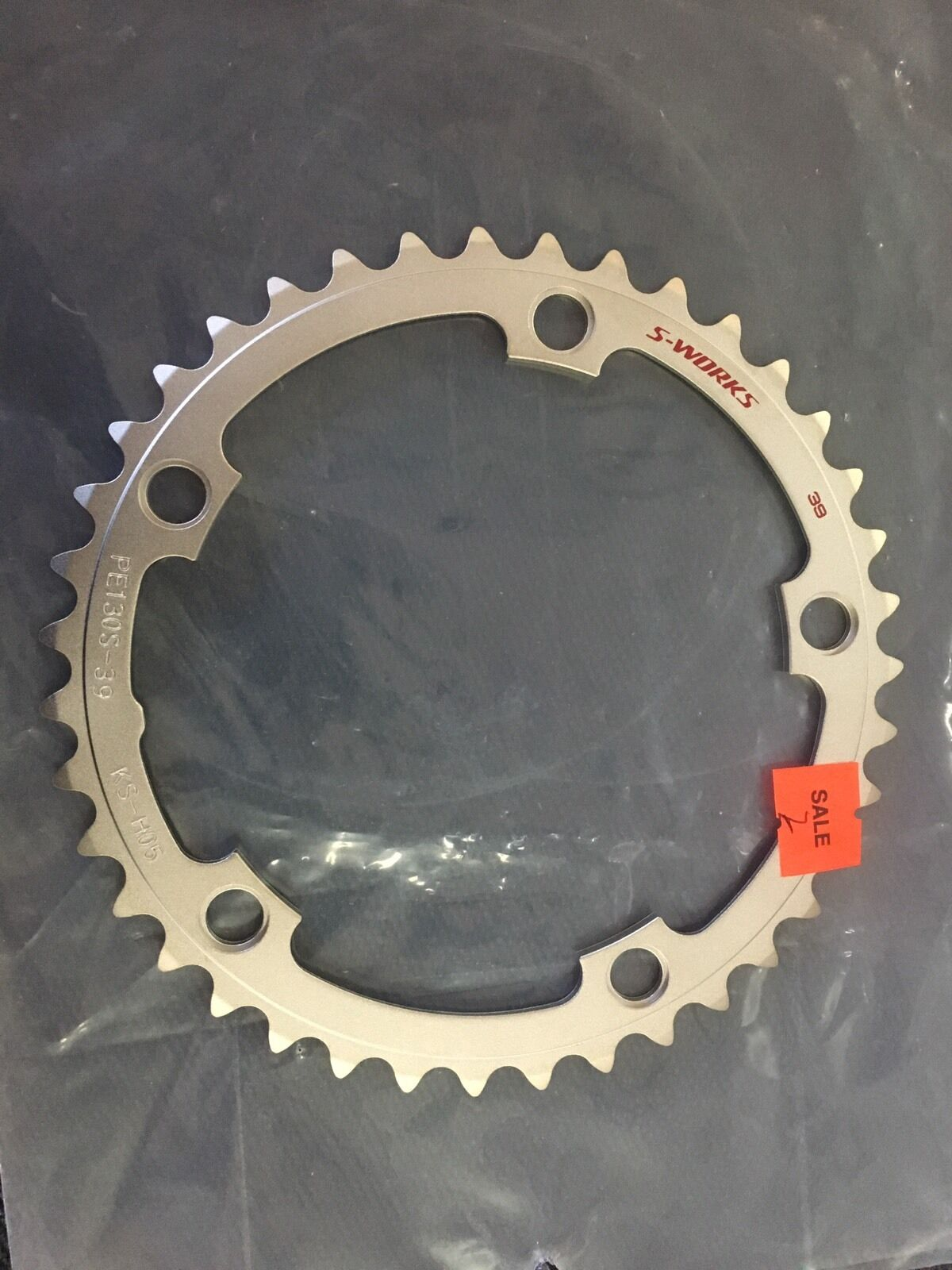 Specialized S-Works 130BCD 39t Chainring 10 11 Speed Road Tri TT (2)