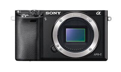 Sony Alpha ILCE-6000 schwarz GEBRAUCHT ! Gehäuse / Body vom Fachhändler ! A6000