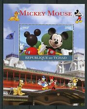 Chad 2016 CTO Mickey Mouse 1v m/s Disney Dibujos Animados sellos