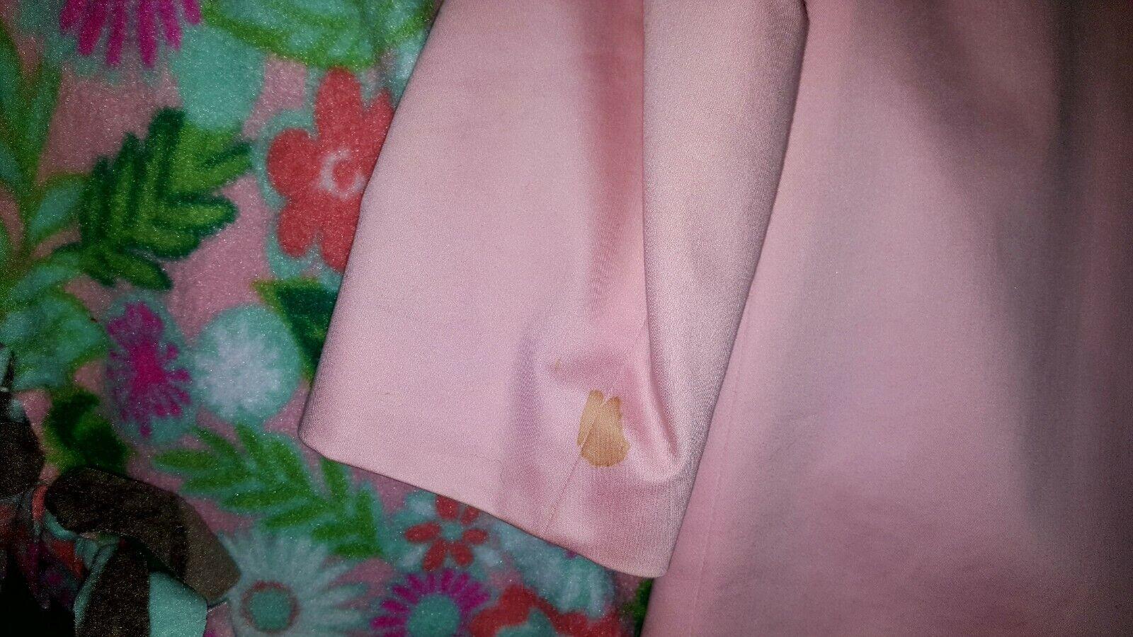 Vintage Tahari Pink Trench Coat - image 8