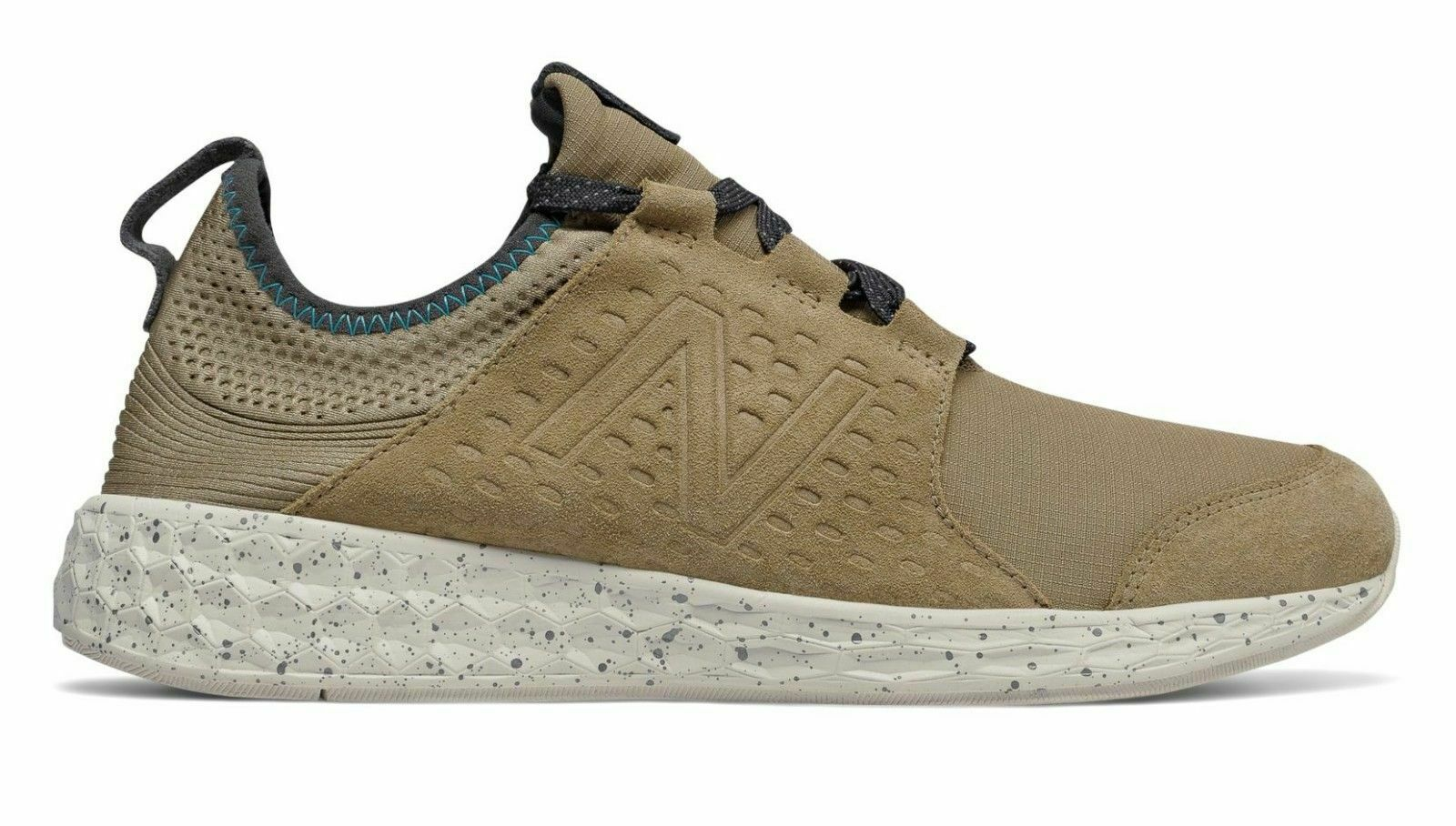 New Balance Mens Fresh Foam Cruz Predect Trainers Tan Brown US 8