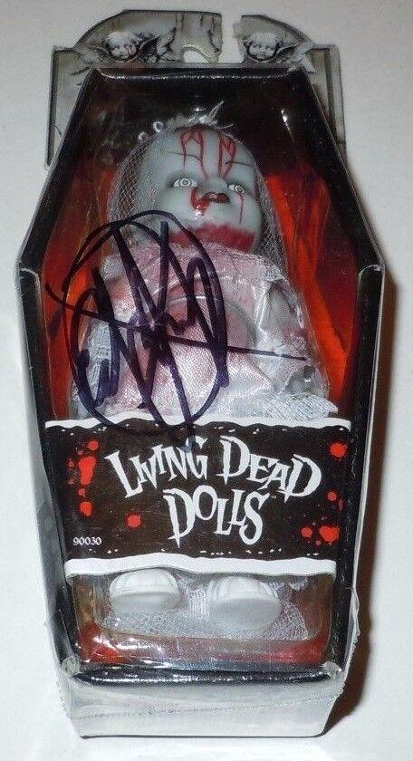 Died Living Dead Dolls Bride Figure NEW SIGNED Ed Long Long Long Autographed 4 Inch 90030 58e337