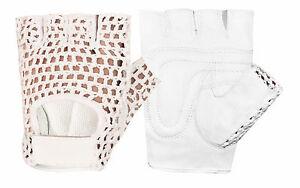 Prime-Sports-Gepolstert-Leder-Netz-Rollstuhl-Handschuhe-W1028