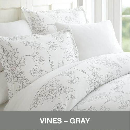 Hotel Luxury Ultra Soft 3 Piece Pattern Duvet Cover Set by the Home Collection