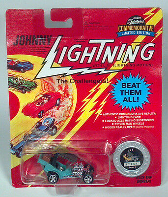 Johnny Lightning TNT Series 3 Custom Hot Rod Die Cast Scale Model Toy Car