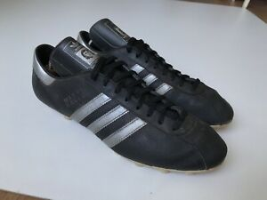 Adidas-Manni-KALTZ-Crampons-VINTAGE-RARE-FOOTBALL-chaussures-boots-homme-Taille-10-Us-28-cm