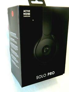 Beats Solo Pro Wireless Noise Cancelling On Ear Headphones Black Ebay