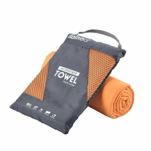 Rainleaf Microfiber Towel Perfect Sports /& Travel /&Beach Towel Fast Drying