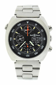 Bell & Ross By Sinn Space 1 Chronograph Stainless Steel ...