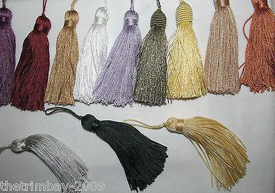 Designer Cushion & Curtains 7 cm Silky Key Tassels  £1.65