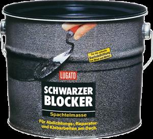 5kg Lugato Schwarzer Blocker Spachtelmasse, Dichtungsmasse, Dichten & Kleben