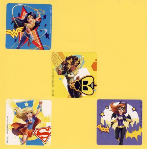 Wonder Woman Supergirl Batgirl 12 DC Super Hero Girls Large Stickers