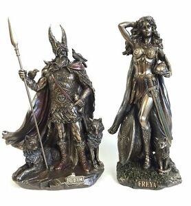 Details About Odin Leader Freya Norse Goddess Of Love Beauty Statue Sculpture Figurine New