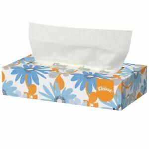 Kleenex Cube Facial Tissue Box of 88 Sheets x 12