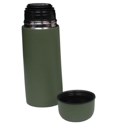 chiusura a scatto Fox Outdoor SOTTOVUOTO thermoskanne isolierflasche Verde Oliva 0,5 L.