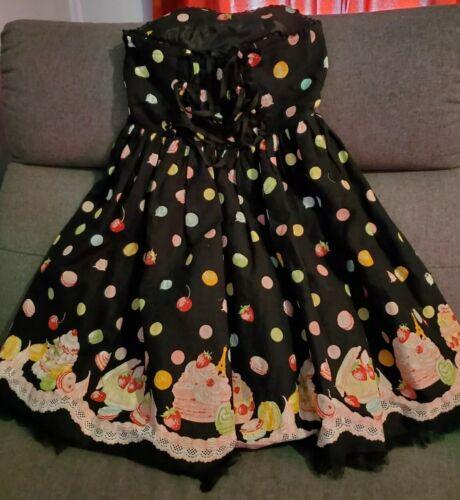 Angelic Pretty lolita jumper dress dreaming macaro