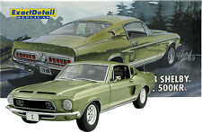 EXACT DETAIL 1968 FORD SHELBY GT 500 KR LIME GREEN ACME 1:18 VINTAGE LANE GMP