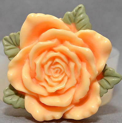 ROSE - Silicone Mould - FOOD USE, resin, fimo ,wax, etc. Silicone mold