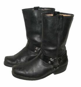 034-KOCHMANN-034-Herren-Westernstiefel-Biker-Boots-Stiefel-in-schwarz-ca-42-5