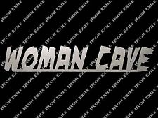 Woman Cave Metal Wall Art Sign Bar Kitchen Home Decor Stuff Christmas Gift Idea
