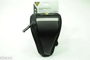 Topeak Sidekick Wedge TC2282B Medium Bike Seat Bag Saddle Pack QR Clip-on Black