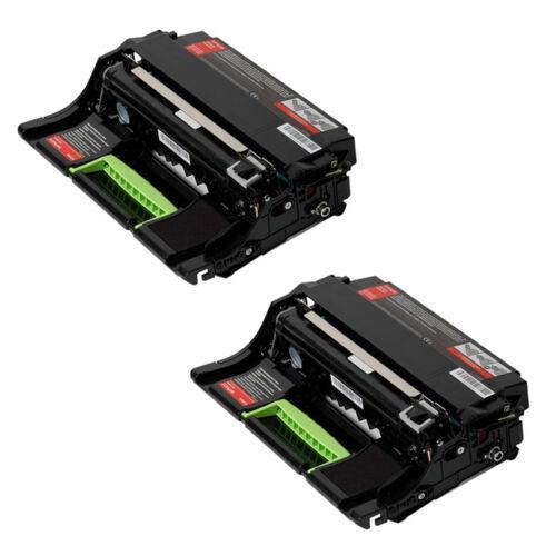 2 Lexmark MS410d MS315dn MS312dn MS310dn MS310d Black Imaging Unit 500ZA 50F0ZA0