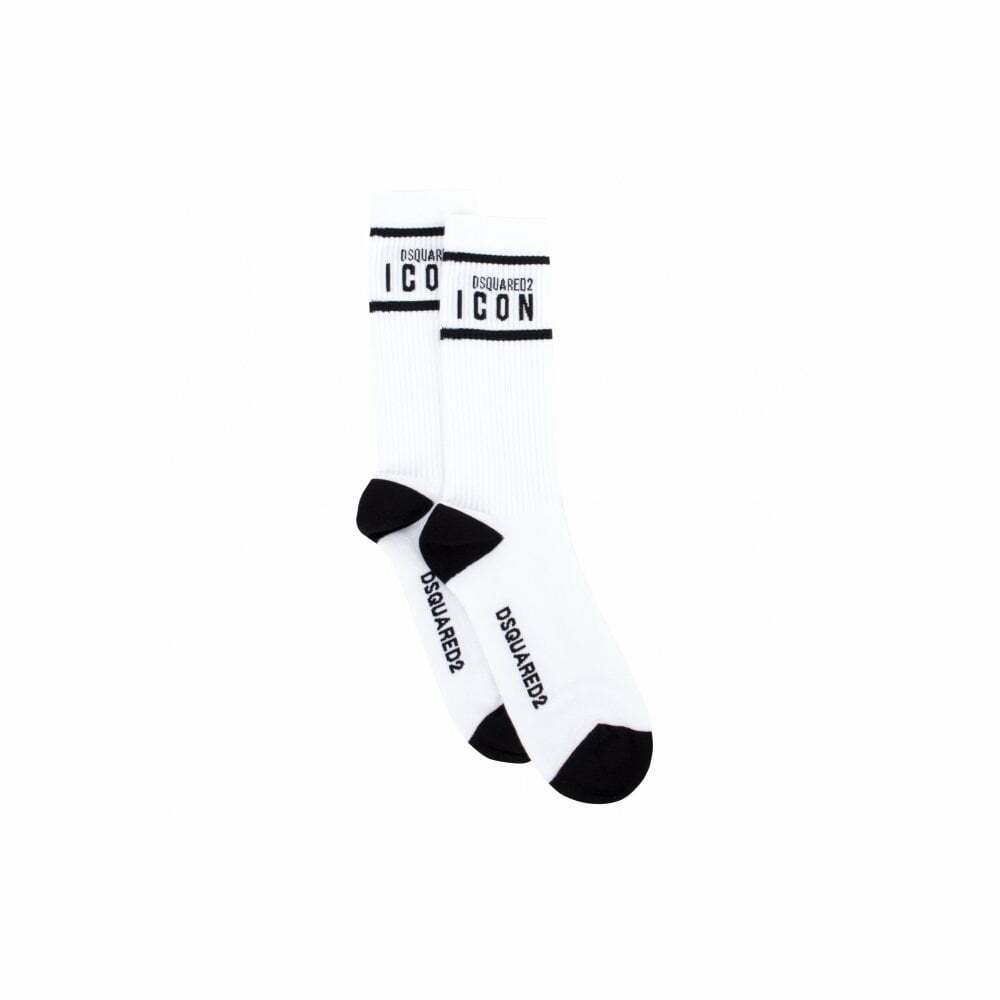 DSQUARED2 Cotton White Socks