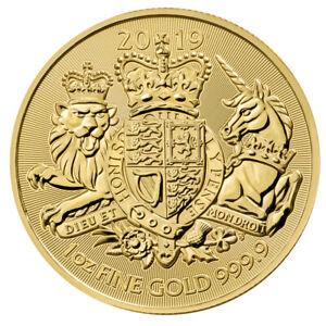 1 oz Gold The Royal Arms 2019 - 100 Pounds Großbritannien - Goldmünze 999,9