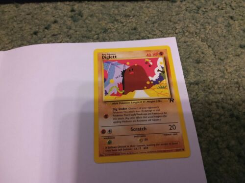Pokemon tcg singles team rocket returns no holos